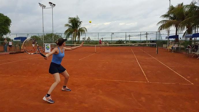Maralice Lopes venceu a 1ª Classe feminina (Foto: Júnior Martins)