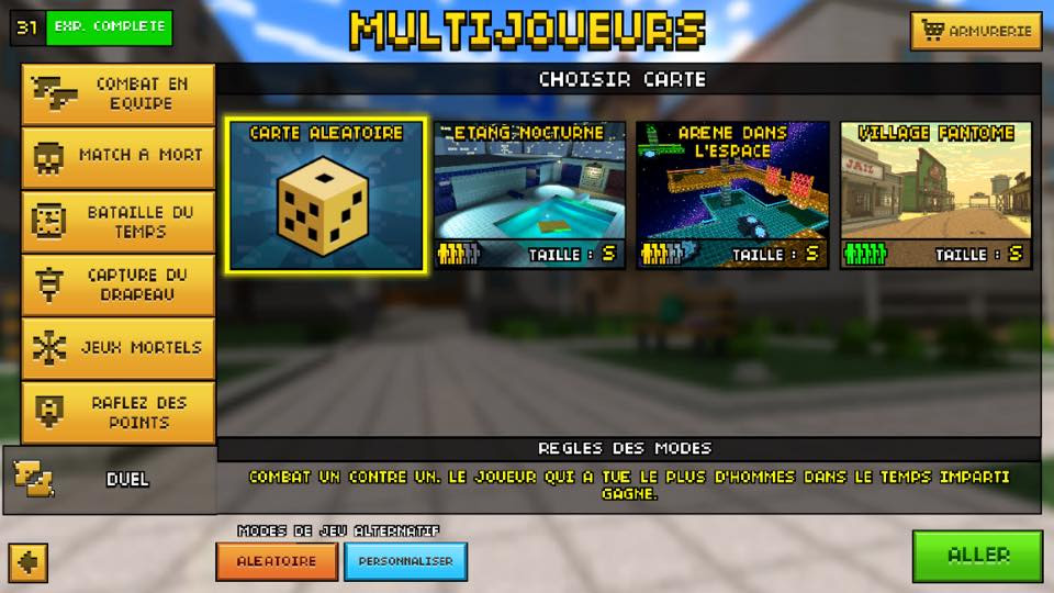download game Pixel Gun 3D cho pc