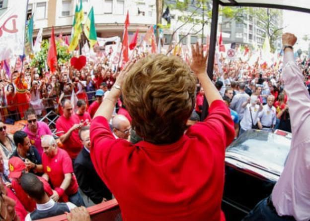 Foto: Ichiro Guerra / Capamnha de Dilma