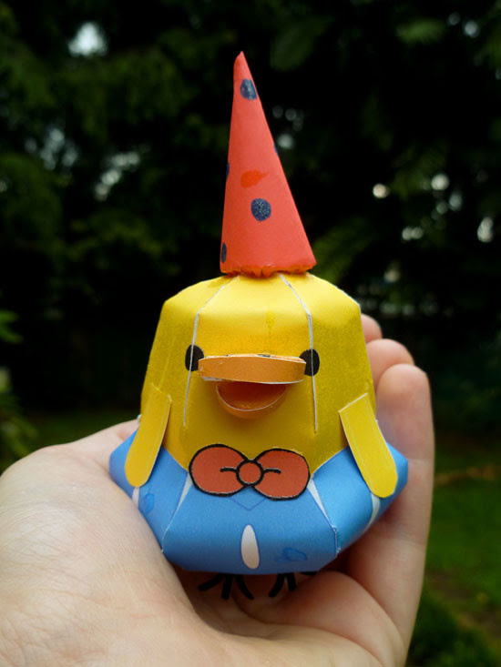 07 July 27 - Origami Duck (2)