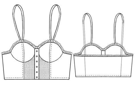 underwear set corsage sewing pattern