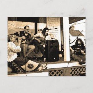 Under Pressure Unplugged postcard