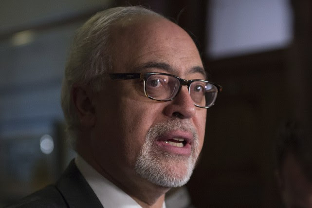 Le ministre des Finances du Québec, Carlos Leitão.... (Photo Jacques Boissinot, PC)