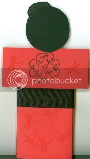 back of kimono card