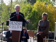 Bill Clinton & Diane Denish