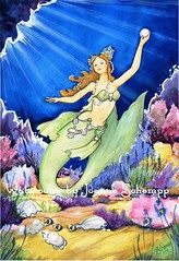 South Pacific Pearl Mermaid by Joanne Schempp
