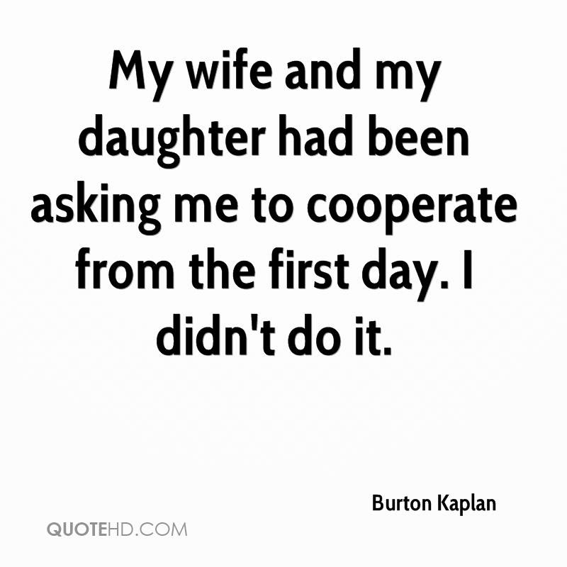 Quotes To My Wife And Daughter Archidev