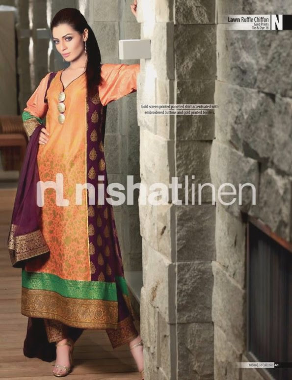 Nishat-Linen-Eid-Dress-Collection-2013-Pret-Ready-to-Wear -Lawn-Ruffle-Chiffon-for-Girls-Womens-7