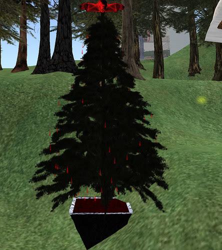 Red or Dead hunt CL Vampire Xmas Tree