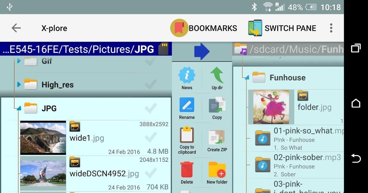 x plore file manager apk