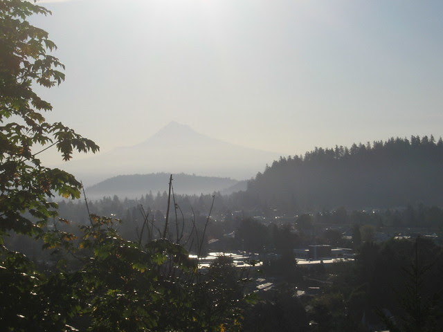 Looking east from Mt. Tabor