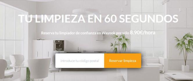Wayook, la web que te permite limpiar tu casa desde el ordenador