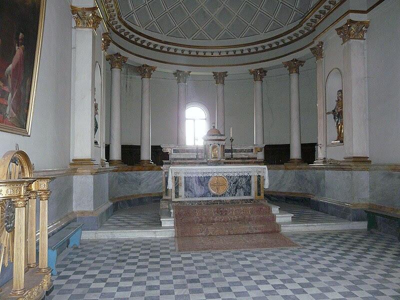 Fil: Acquapendente-Basilica San Sepolcro-Altare destro.jpg
