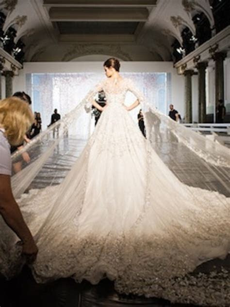Elie Saab's $300,000 Wedding Dress, And Five More Couture