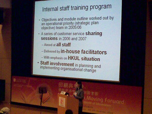 Esther Woo - HKLA 50th Anniversary Conference