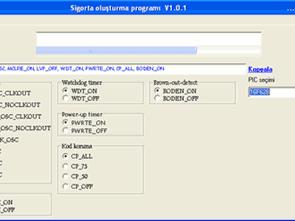 Trình tạo mã bảo hiểm cho Proton Picbasic Hi Tech C