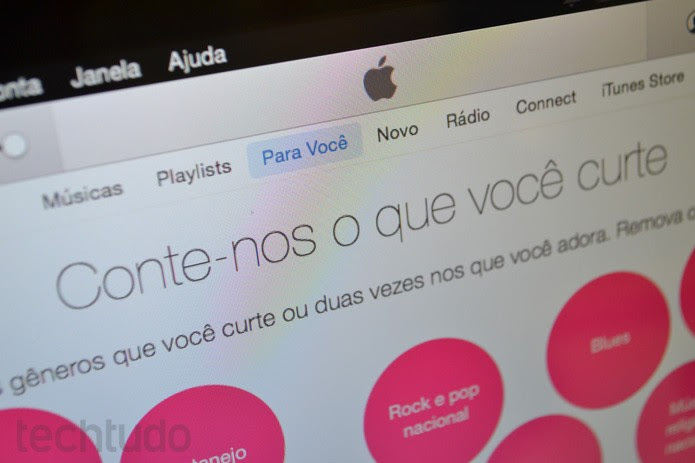 Apple Music (Foto: Melissa Cruz / TechTudo)