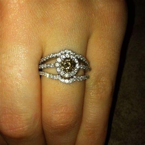 details  le vian chocolate diamond engagement ring