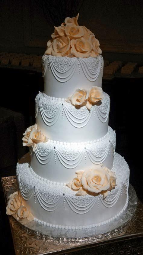 Platinum Elegant Wedding Cakes ? Artistic Desserts