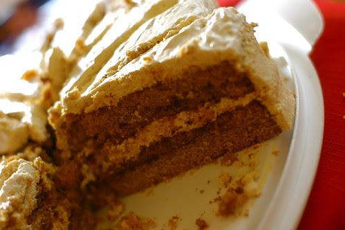 gluten-free burnt sugar cake