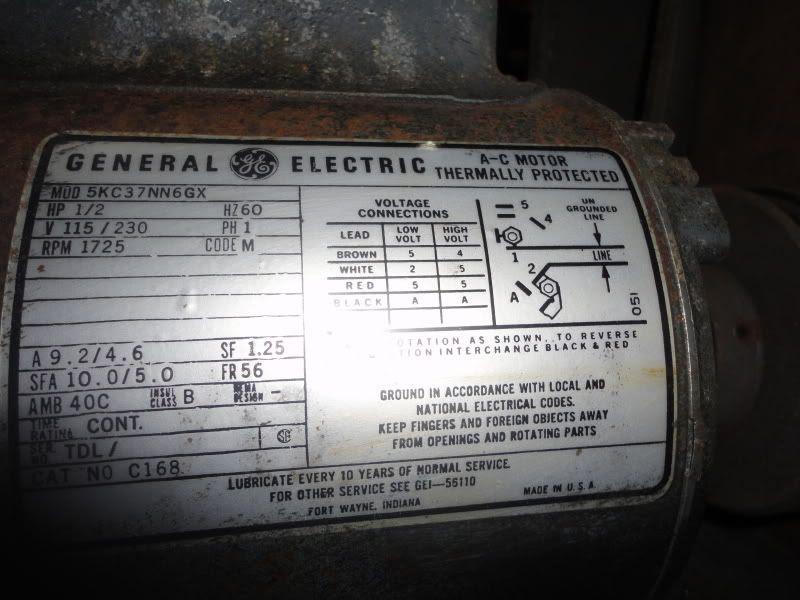 35 General Electric Motor Wiring Diagram