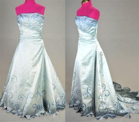 Tim Burton Corpse Bride Wedding Zombie Dress gown by