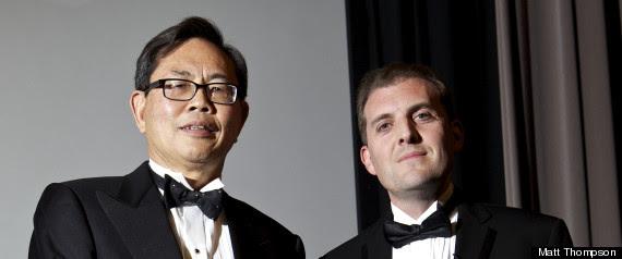 Dr Min Kao And Tom Standage