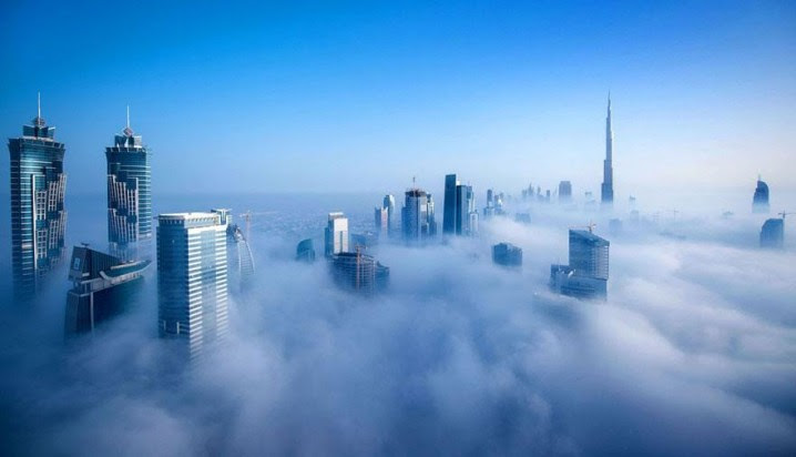 Awesome Pictures of Dubai Taken From The 85th Floor