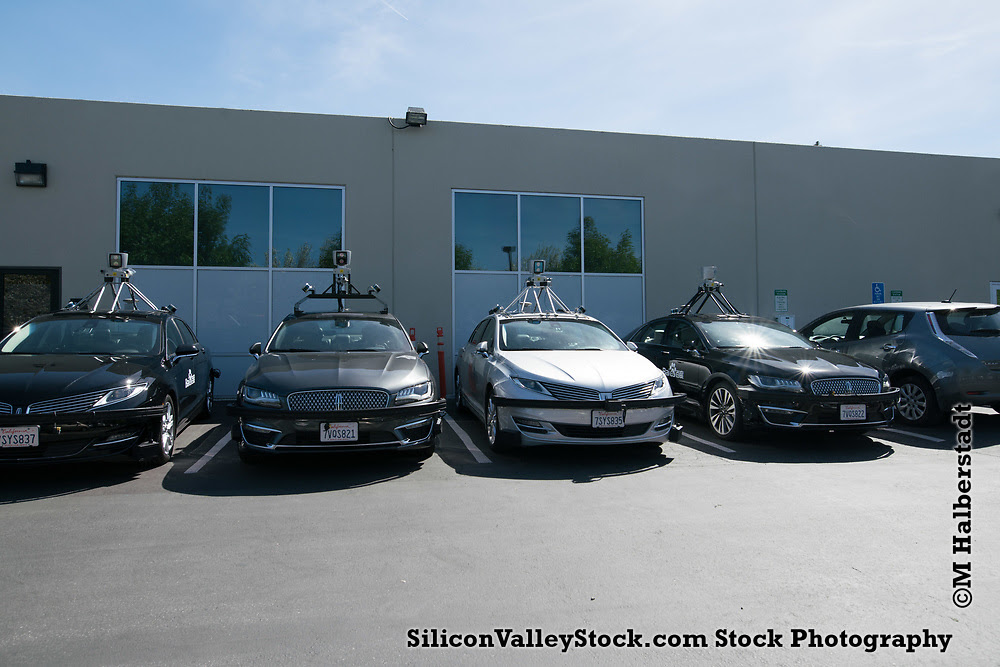 Baidu Self Driving Vehicles, Sunnyvale, Silicon Valley