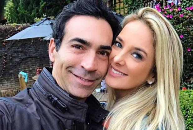 César Tralli elogia foto de Ticiane Pinheiro e fãs pedem casamento