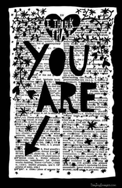 I Think That You Are Gorgeous Quotespicturescom