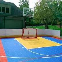 Backyard Courts Sport Court Michigan Sport Court Michigan