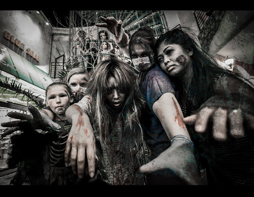 Zombie Walk in American Village, Okinawa 2012 by Shenanigans in Japan