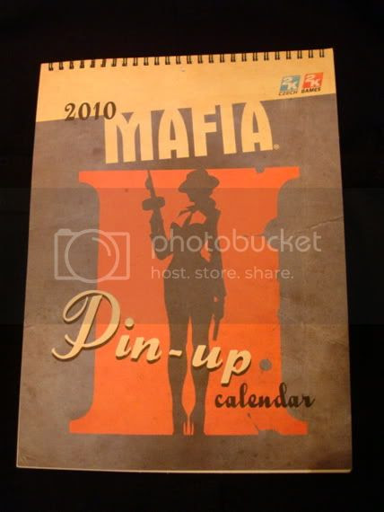 Mafia II Pin-Up Girl Calendar Contest