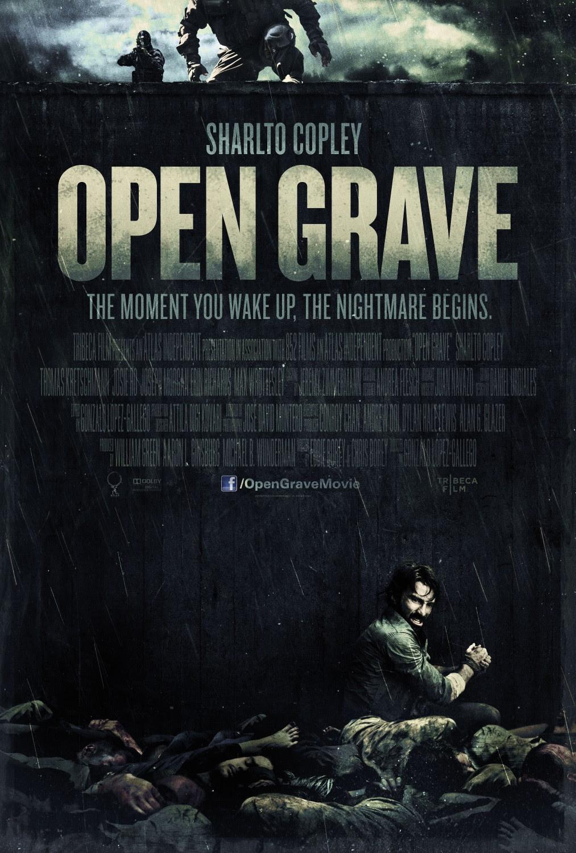Risultati immagini per open grave movie poster