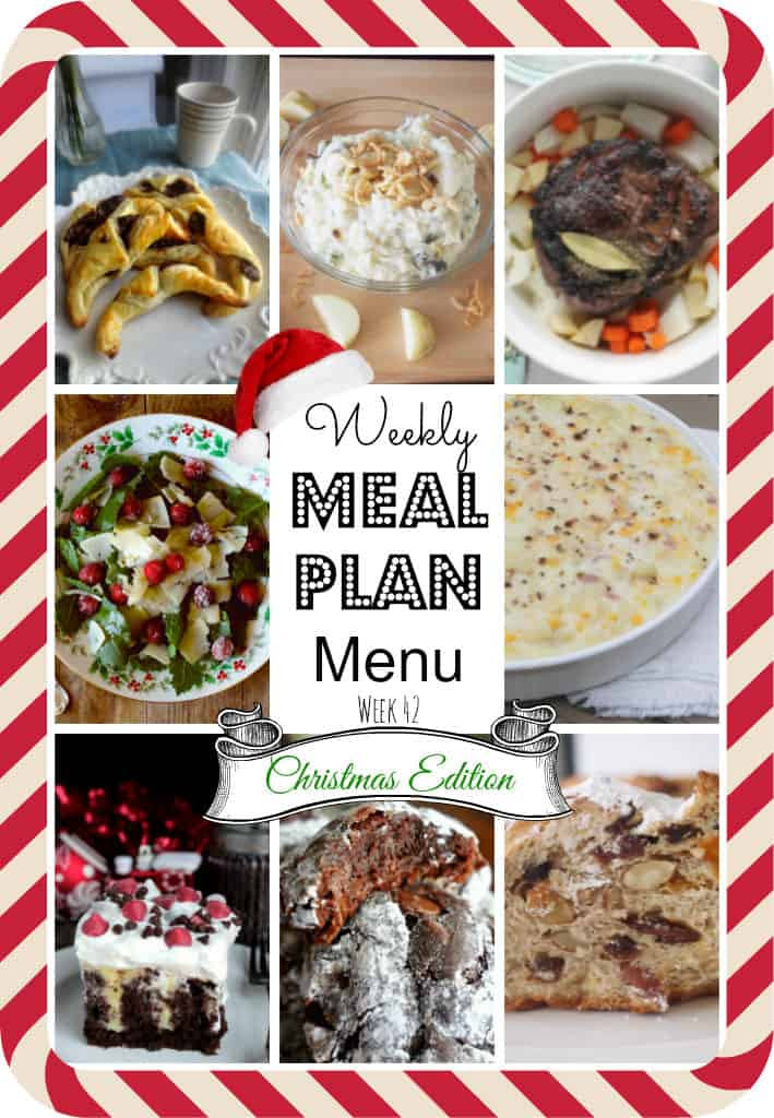 Meal Plan #42 Christmas-main