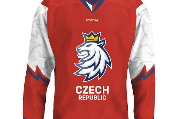 ed898ed09186f Česi vravia o hokejovej revolúcii. Pozrite sa, ako budú vyzerať ich dresy