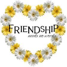 friendship no words Comments Glitter Graphics Myspace