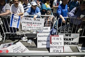 FILE - In this Sunday, June 1, 2014 file photo, protesters…
