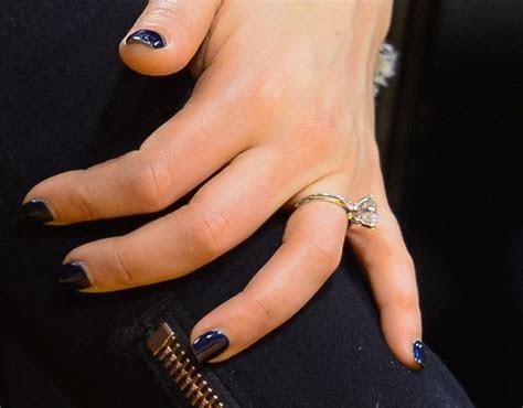mila kuniss beautiful engagement ring