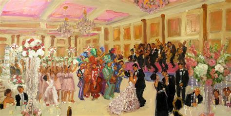 MUMMERS WEDDING PAINTING at the Merion, NJ   Live Event