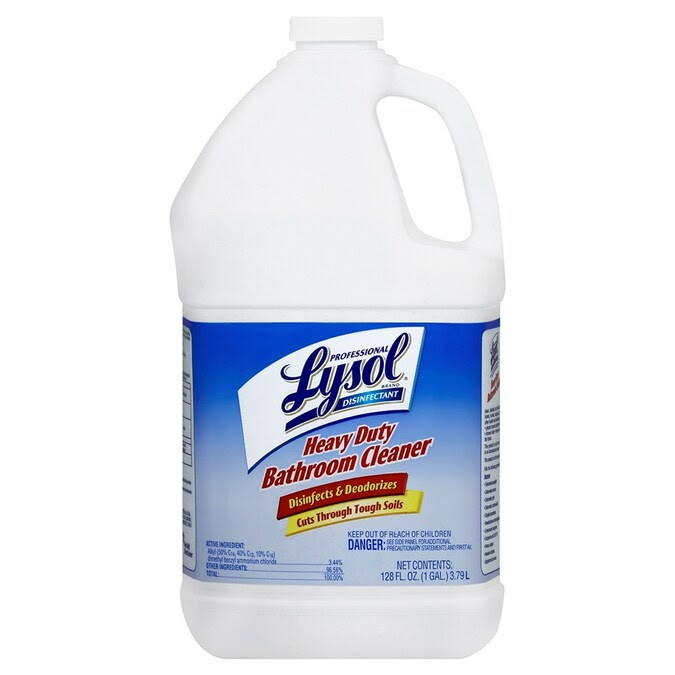 Lysol 1 Gallon Lime All Purpose Cleaner In The Shower Bathtub Cleaners Department At Lowes Com