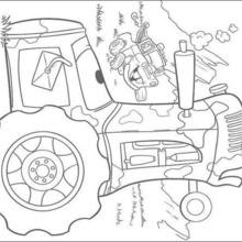 850 Cars 2 Coloring Pages Hellokids Download Free Images