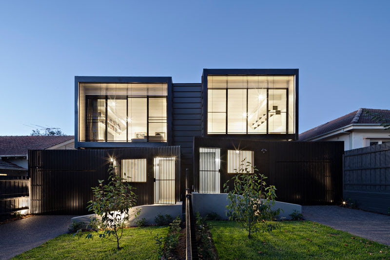 Chan Architecture Have Designed A Couple Of Townhouses In ...