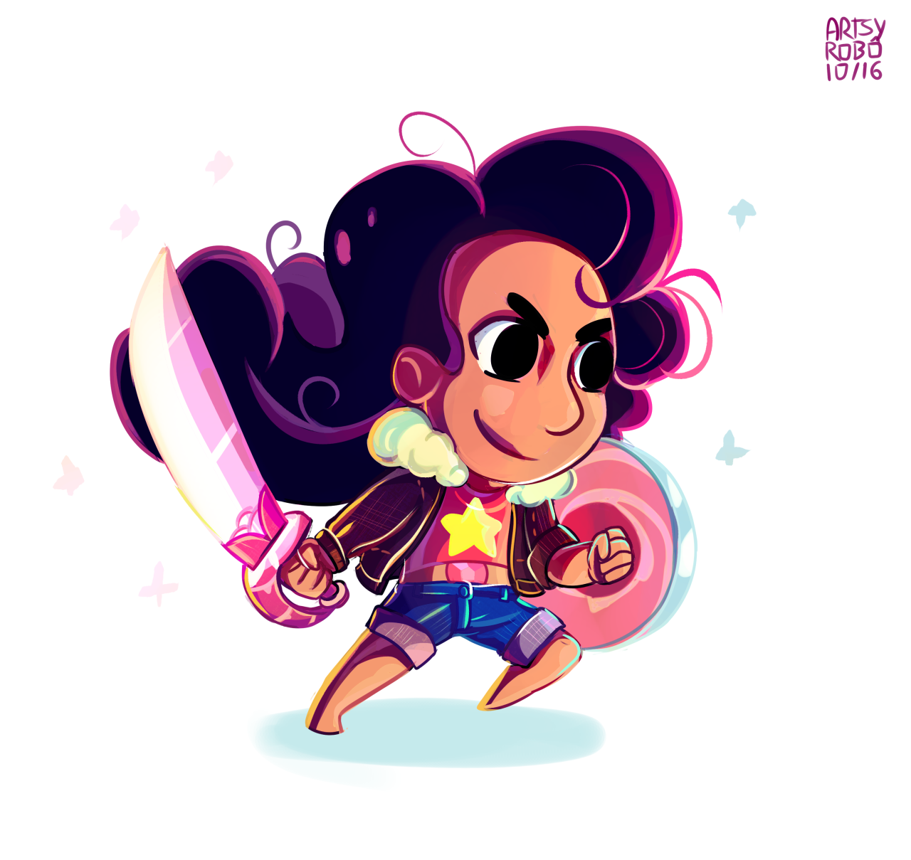 Stevonnie 10-16 Another chibi sample! one more to go for this category art only blog - twitter