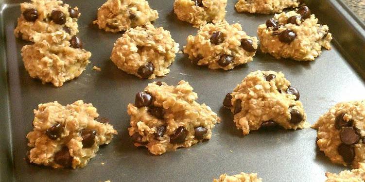 Easiest Way to Cook Perfect Skinny banana cookies
