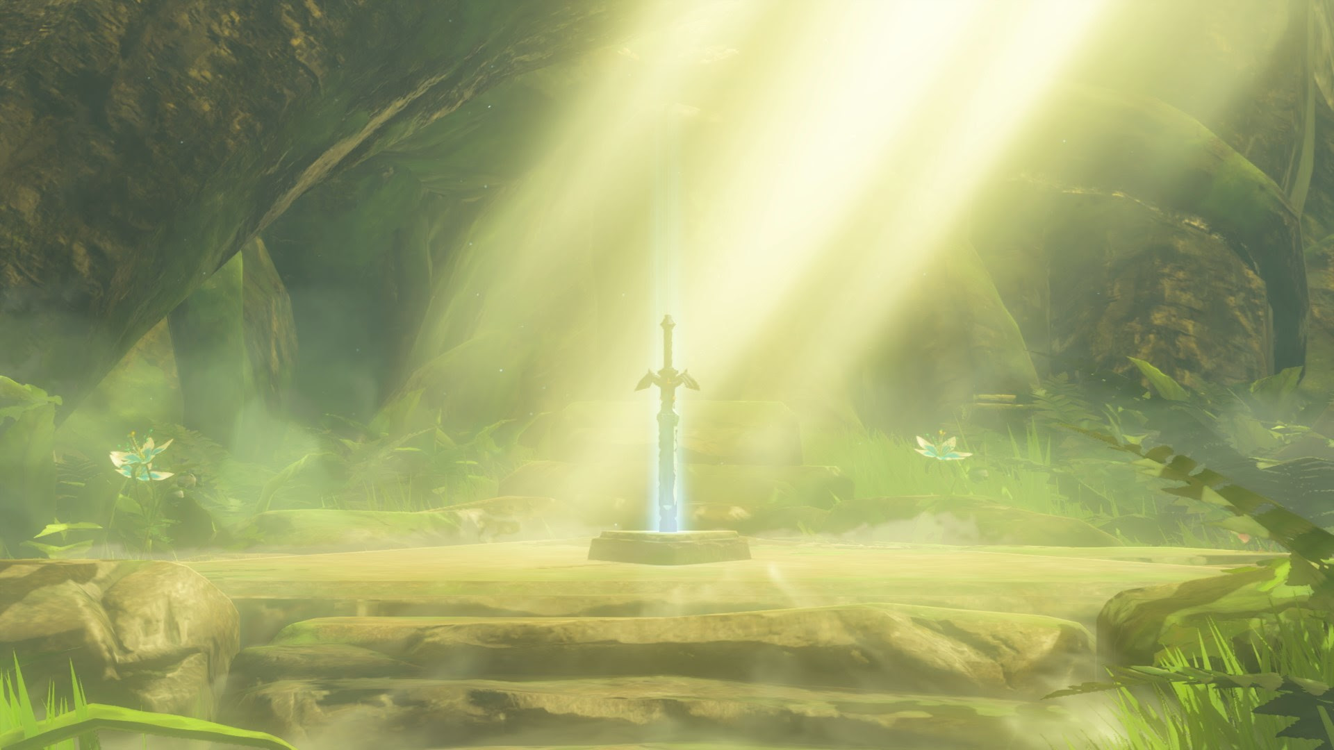 Forest Breath Of The Wild Master Sword A Link To The Past