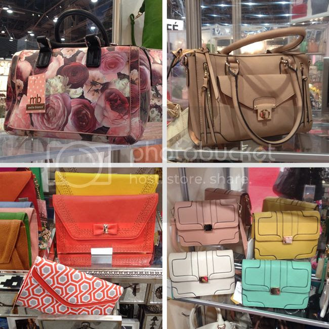 Melie Bianco spring 2014 handbags