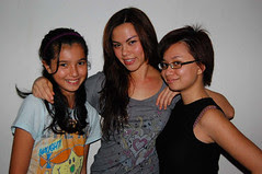(left to right) melati, melur, mawar