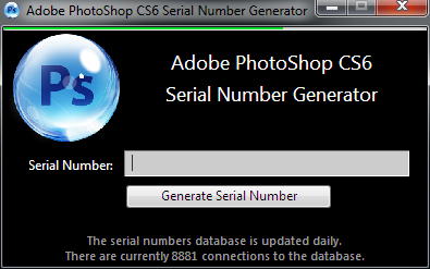 Download Crack Adobe Photoshop CS6 Full Serial Number